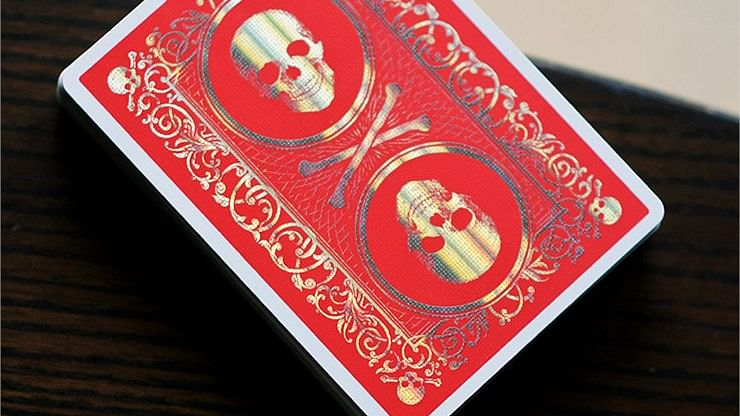 Special Edition Skull & Bones Playing Cards