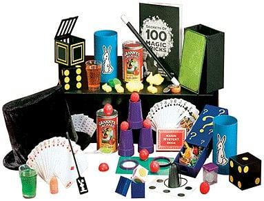 Spectacular 100 Trick Magic Suitcase