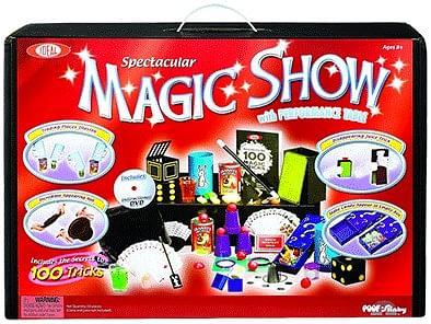 Spectacular 100 Trick Magic Suitcase - magic