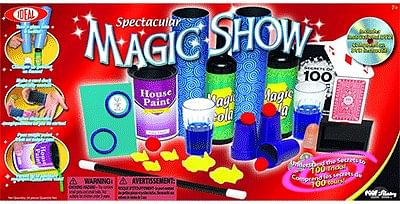 Spectacular Magic Show 100 Trick Set - magic
