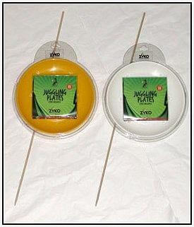 Spinning Plate Set  - Yellow - magic
