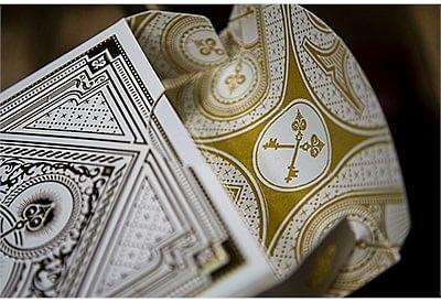 Spirit White Playing Cards