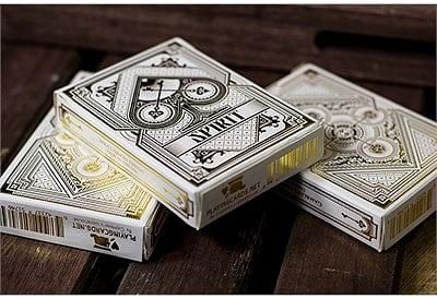 Spirit White Playing Cards - magic