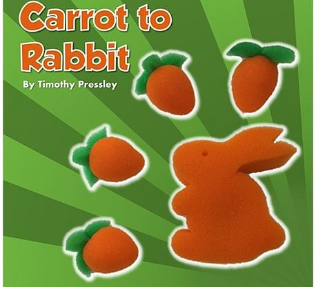 Sponge Carrot to Rabbit - magic