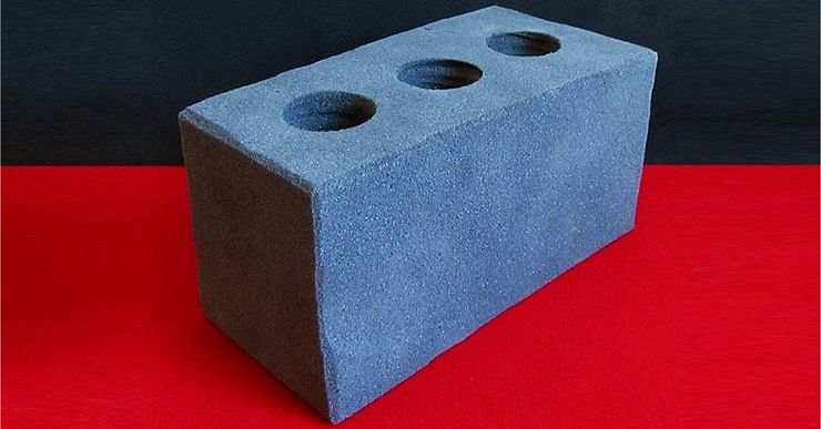 Sponge Cement Brick - magic