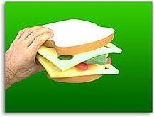 Sponge Club Sandwich - magic