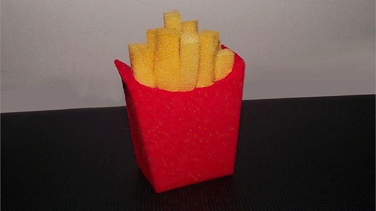 Sponge French Fries - magic