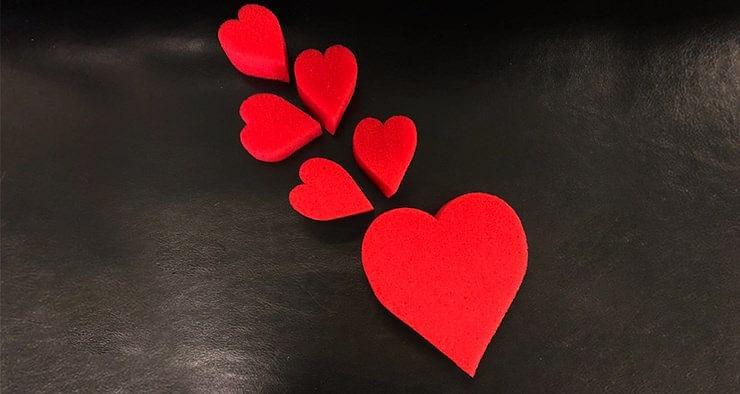 Sponge Heart Set - magic