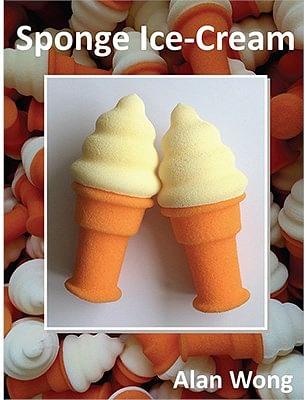 Sponge Ice Cream Cone - magic