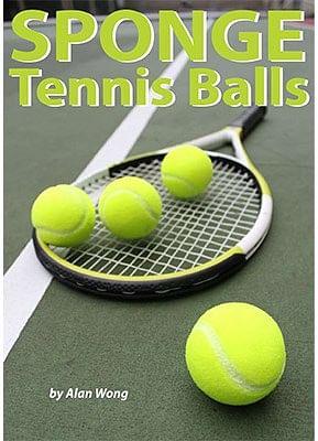 Sponge Tennis Balls - magic