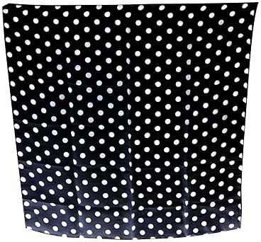 "Spotted Silk 24"" (Black w/ White Dots) - magic"