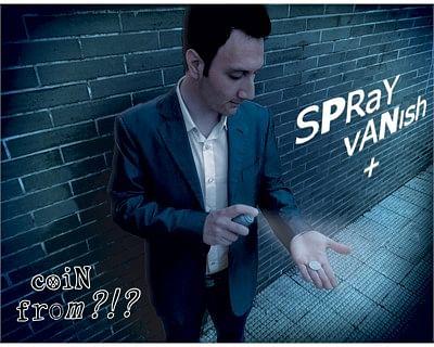 Spray Vanish + Coin from ?!? - magic