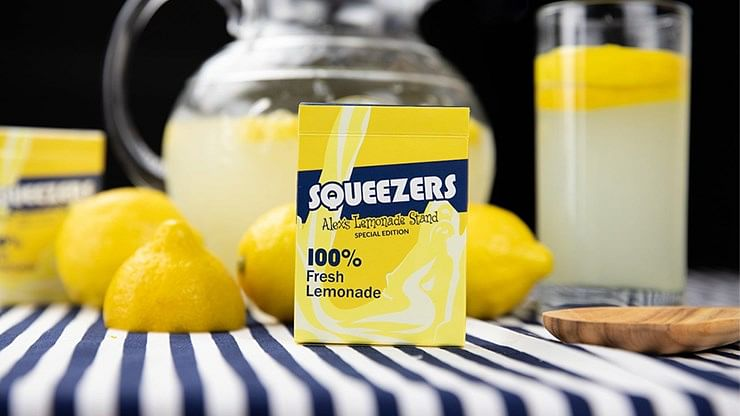Squeezers V2 Playing Cards (Alex's Lemonade Stand) - magic