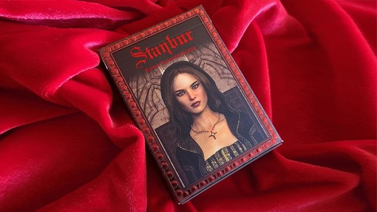 Stanbur Royal Playing Cards - Black Seal Edition