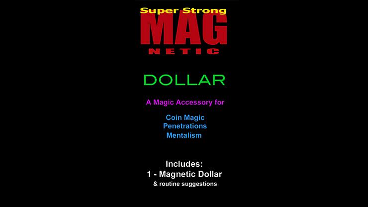 Standard Magnetic Dollar w/Zone Zero Bill Routine - magic