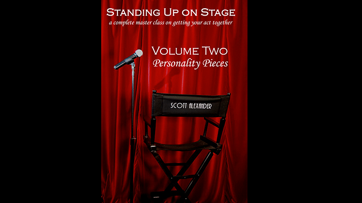 Standing Up on Stage Volume 2 Personality Pieces - magic