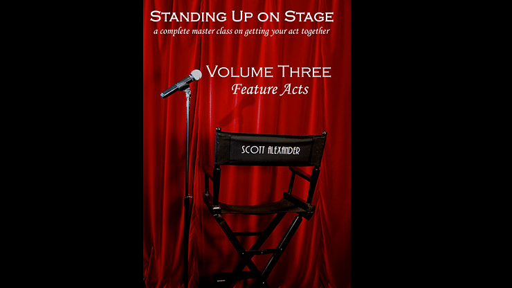 Standing Up on Stage Volume 3 Feature Acts - magic