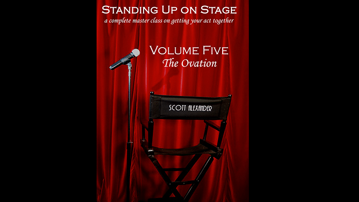 Standing Up On Stage Volume 5 The Ovation - magic