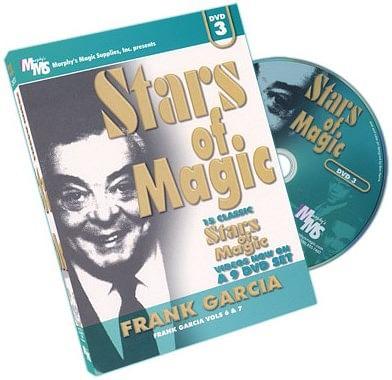 Stars Of Magic - Volume 3 - Frank Garcia - magic