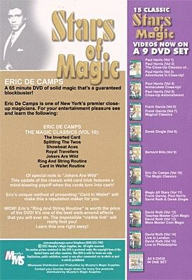 Stars Of Magic - Volume 6 - Eric DeCamps