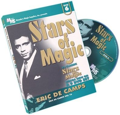 Stars Of Magic - Volume 6 - Eric DeCamps - magic