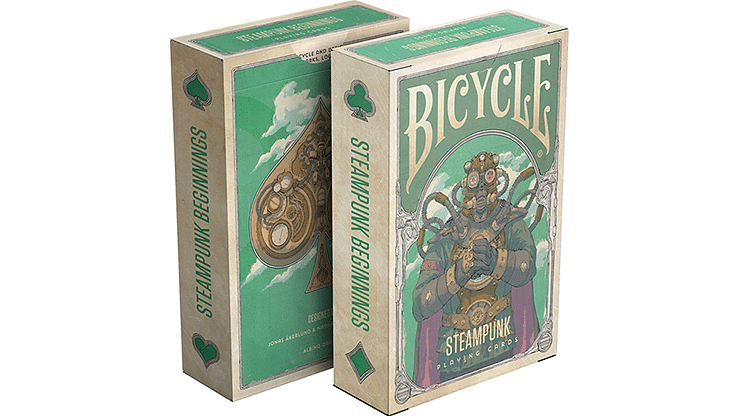 Steampunk Beginnings Playing Cards - magic