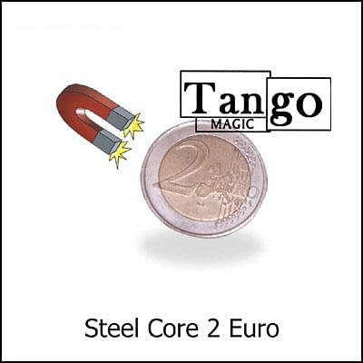 Steel Core Coin - 2 Euros - magic