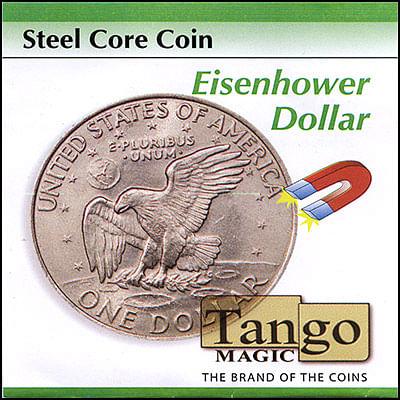 Steel Core Coin - Eisenhower Dollar - magic