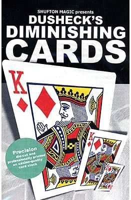 Steve Dusheck's Diminishing Cards - magic