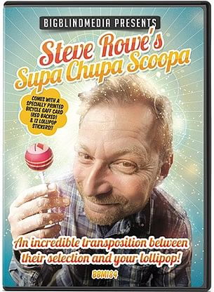 Steve Rowe's Supa Chupa Scoopa - magic