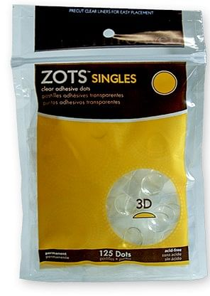 Sticky Dots 3D  Bag of Singles - magic