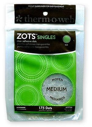 Sticky Dots Medium  Bag of Singles - magic