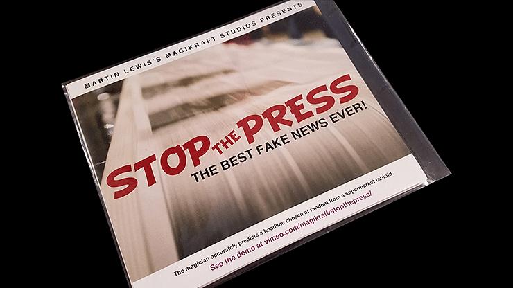 Stop the Press - magic