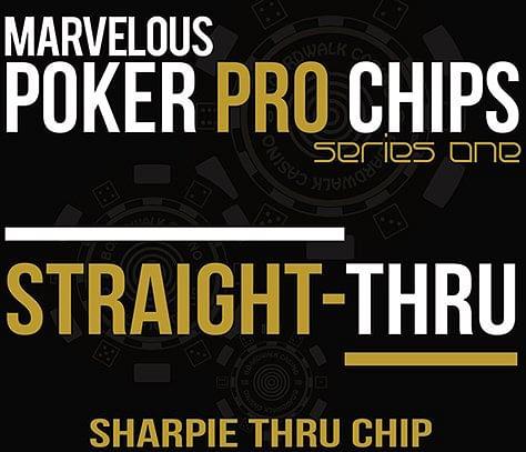 Straight Thru - Sharpie Thru Chip - magic