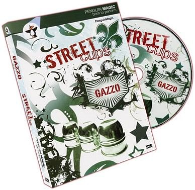 Street Cups (DVD and Book Set) - magic