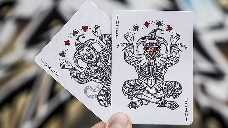 Street Edition Joker and the Thief Playing Cards
