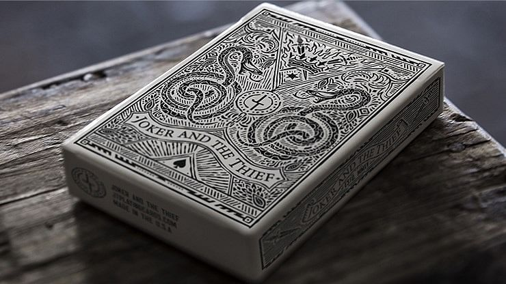 Street Edition Joker and the Thief Playing Cards - magic