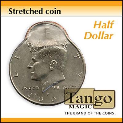 Stretched Coin - Half Dollar - magic