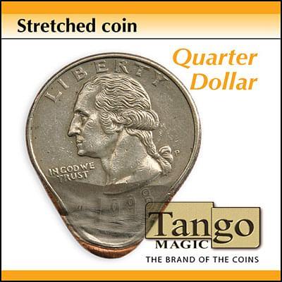 Stretched Coin - Quarter - magic