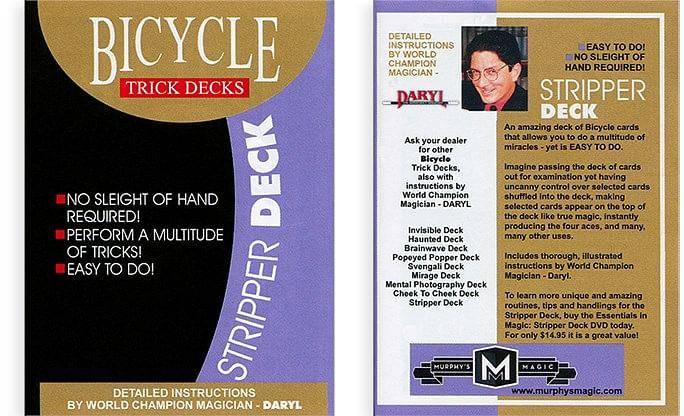 Stripper Deck - Mandolin Bicycle - magic
