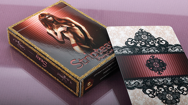 Striptease Playing Cards - magic