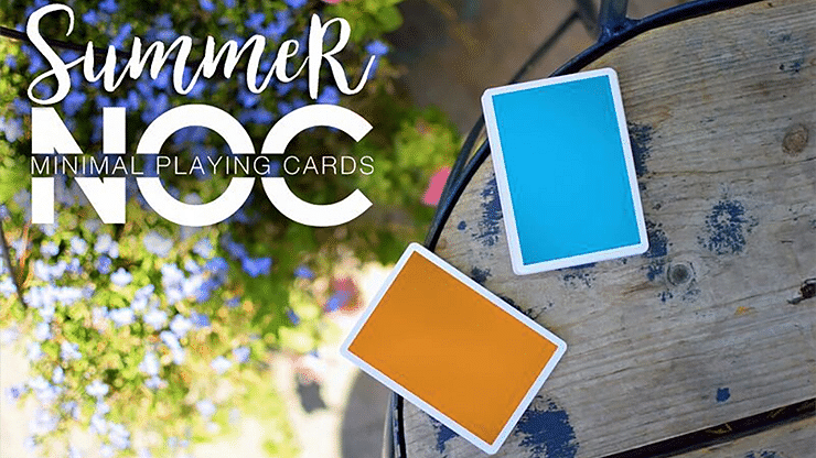 Summer NOC Playing Cards (Orange) - magic