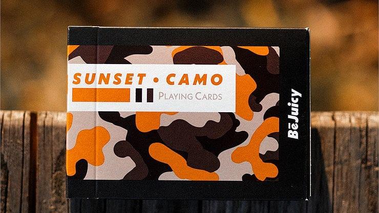 Sunset Camo Playing Cards - magic