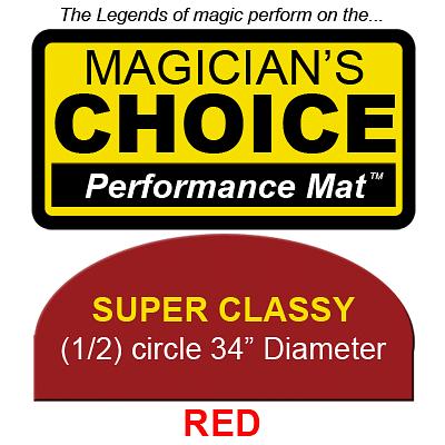 Super Classy Close-Up Mat (RED, 34 inch) - magic