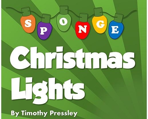 Super-Soft Sponge Christmas Lights - magic
