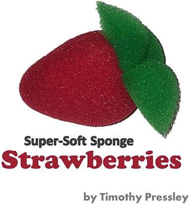 Super-Soft Sponge Strawberries - magic
