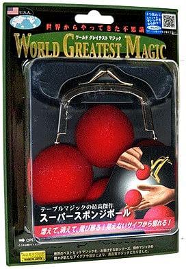Super Sponge Balls - magic