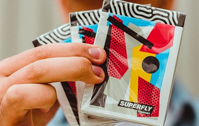 Superfly Stardust Playing Cards - magic