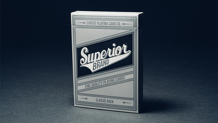 Superior Playing Cards (Black) - magic