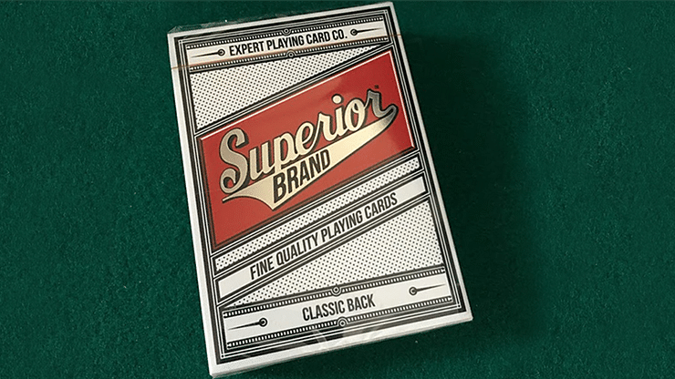 Superior Invisible Deck Playing Cards - magic